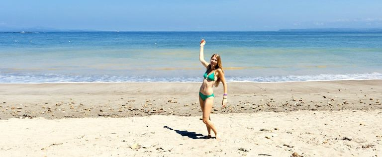 Stranden i Javea
