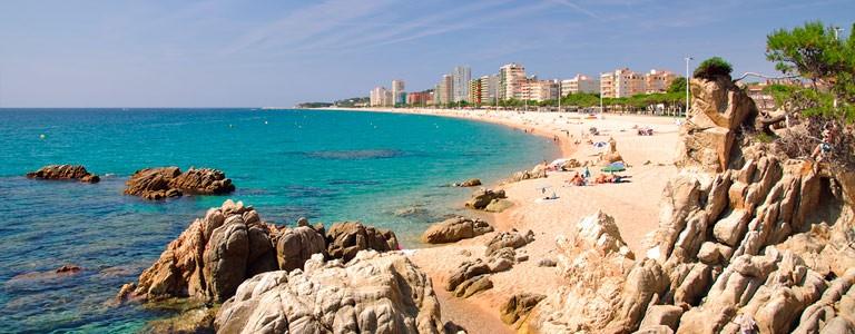 Girona, Barcelona, Costa Brava, Platja d'Aro