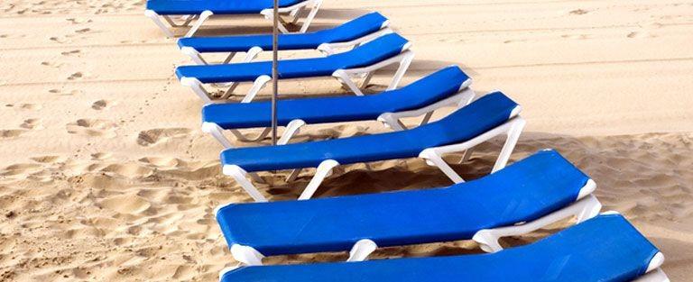 Strand och sand Playa San Juan