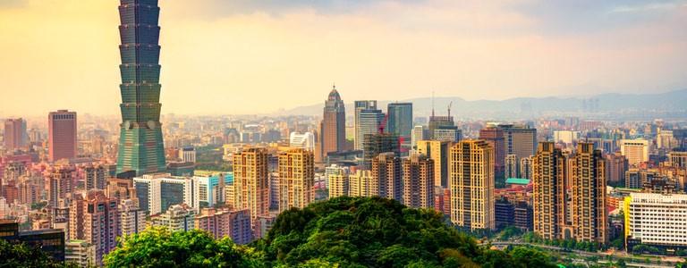 Taipei, Kaohsiung, Keelung, Hsinchu, Taichung, Chiayi, Tainan.