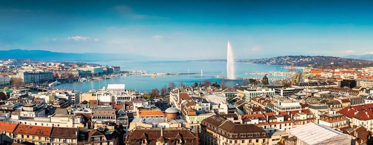 Geneva city Switzerland