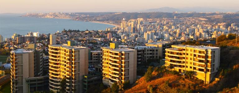 Vina del Mar, Valparaiso, Santiago de Chile