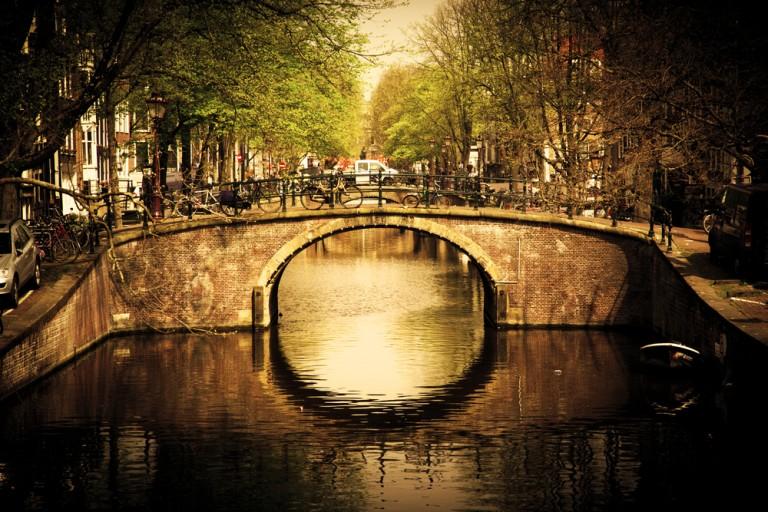 Kanalene i Amsterdam