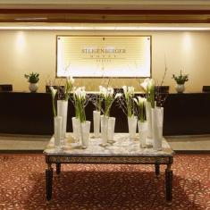 Receptionen på Steigenberger Hotel Berlin