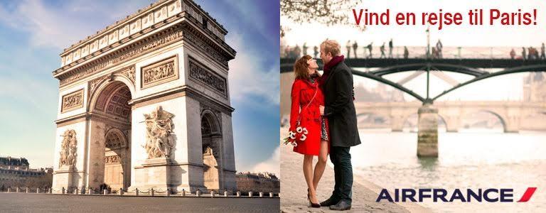 Vind en rejse til Paris med Air France