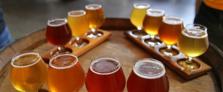 Smagning af belgiske øller i Bruxelles