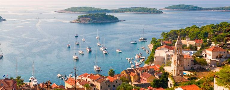 Split, Kroatien, Hvar