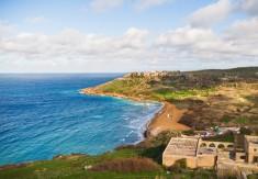 Malta - Kusten vid ön Gozo