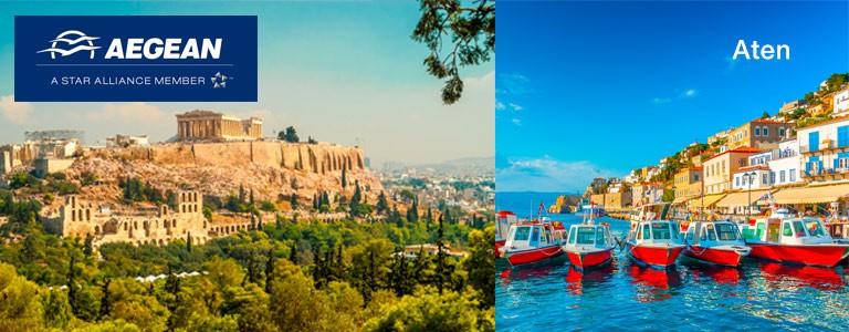 Aegean Airlines kampanj Aten SE
