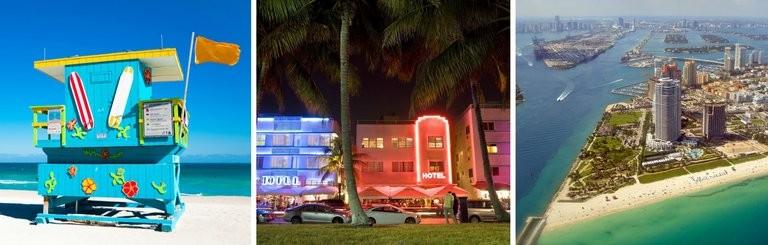 Miami Beach med SOLFAKTOR