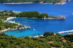 Corfu - Vacker kust vid Paleokastritsa 257x171