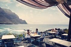 Playa El Arenal restaurang Teneriffa