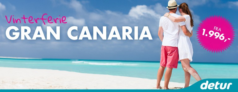 Gran Canaria med Detur