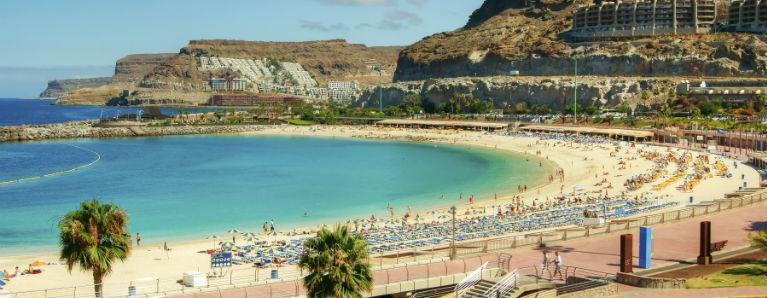 Gran Canaria Amadores stranden 768x300