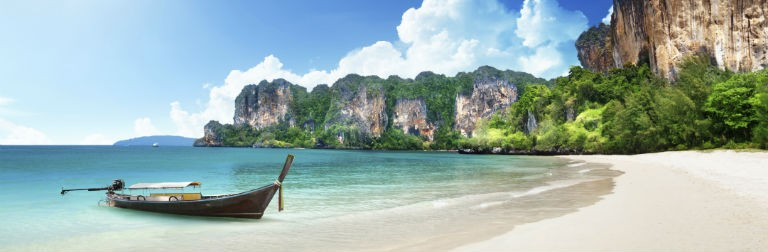 Krabi Railay beach 768x250
