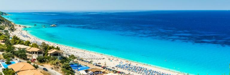 Grekland strand 768x250