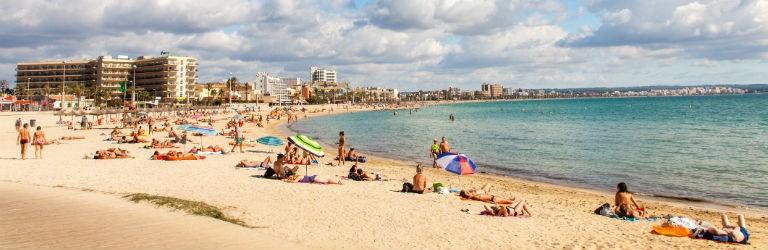 Playa de Palma Mallorca 768x250