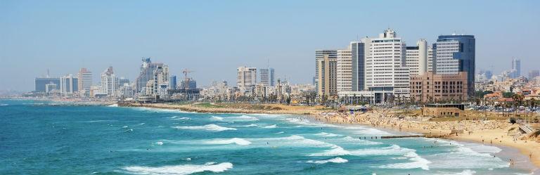 Tel Aviv Israel 768x250