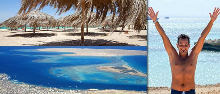 Fin strand ved Hurghada