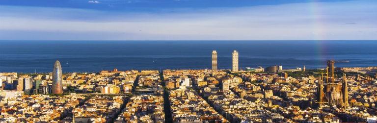 Barcelona med Medelhavet 768x250