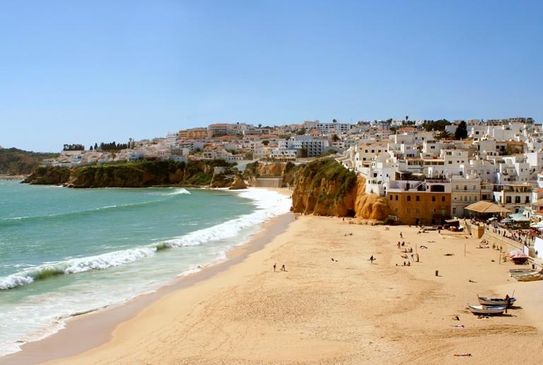 Albufeira langs Algarvekysten