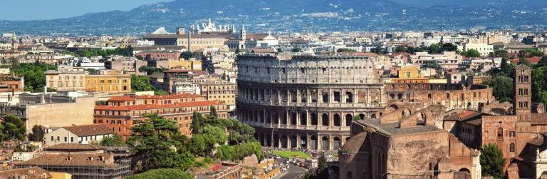 Rom Colosseum 768x250