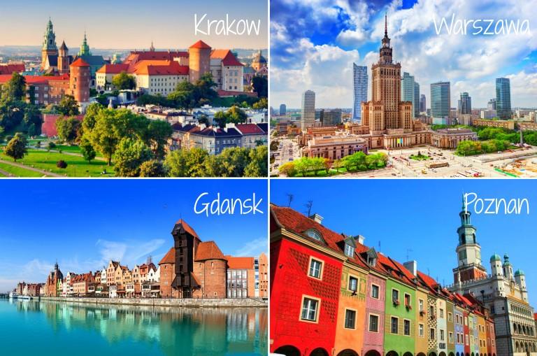 Herlige Polen! Besøk Poznan, Gdansk, Krakow eller Warszawa