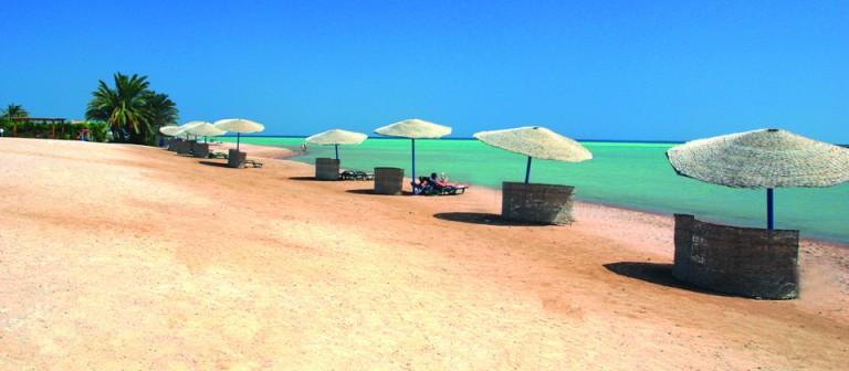Strand ved Rødehavet