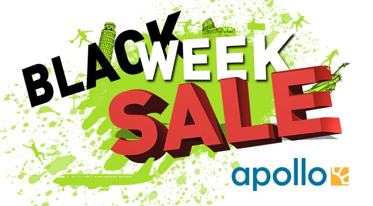 Black week sale - Apollo