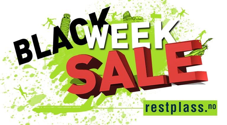 Black week sales - Restplass.no